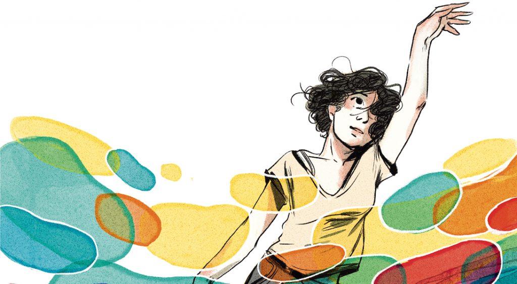 """""""Coming in"""", un roman graphique sensible sur l'acceptation de son homosexualité"""