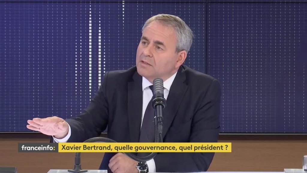 Xavier Bertrand est candidat à l'élection présidentielle 2022